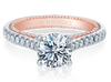 Couture ENG-0445-2WR Diamond Engagement Ring Semi-Mount 0.45 ctw.