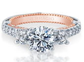 Couture ENG-0470R-2WR Diamond Engagement Ring Semi-Mount 0.85 ctw.