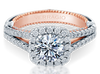 Couture ENG-0474CU-2WR Diamond Engagement Ring Semi-Mount 0.70 ctw.