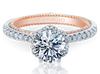 Couture ENG-0457RD-2WR Diamond Engagement Ring Semi-Mount 0.45 ctw.