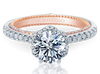 Couture ENG-0458RD-2WR Diamond Engagement Ring Semi-Mount 0.45 ctw.