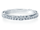 Parisian D-124W Diamond Wedding Band