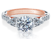 Couture ENG-0470PS-2WR Diamond Engagement Ring Semi-Mount 0.80 ctw.