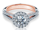 Couture ENG-0474R-2WR Diamond Engagement Ring Semi-Mount 0.70 ctw.