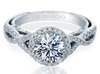 Insignia INS-7070R Diamond Engagement Ring Semi-Mount 0.45 ctw.