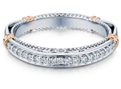 Parisian D-128W Diamond Wedding Band