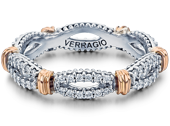 Parisian D-105W Diamond Wedding Band