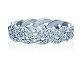 Eterna WED-4023 Diamond Wedding Band 0.60 ctw.