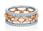 Eterna WED-4024WRW Diamond Wedding Band 0.80 ctw.