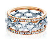 Eterna WED-4024RWR Diamond Wedding Band 0.80 ctw.