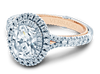 Couture ENG-0425OV-2T Diamond Engagement Ring Semi-Mount 0.45 ctw.