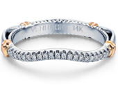 Parisian D-117W Diamond Wedding Band