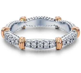 Parisian D-102W Diamond Wedding Band