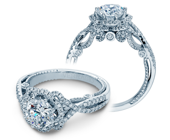 Insignia INS-7087R Diamond Engagement Ring Semi-Mount 0.50 ctw.