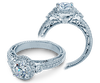 Venetian AFN-5063R Diamond Engagement Semi-Mount 0.55ctw.
