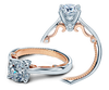Insignia INS-7075-2T Diamond Engagement Ring Semi-Mount 0.08 ctw.