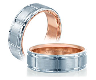 Verragio Mens Wedding Band VW-7011