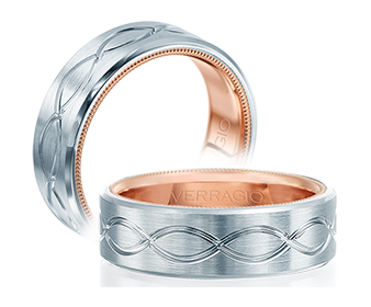 Verragio Mens Wedding Band VW-7013