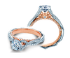 Venetian AFN-5074R-2WR Diamond Engagement Semi-Mount 0.35ctw.