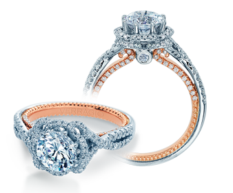 Couture ENG-0478R-2WR Diamond Engagement Ring Semi-Mount 0.60 ctw.