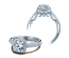 Insignia INS-7061CU Diamond Engagement Ring Semi-Mount 0.40 ctw.