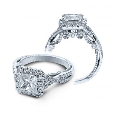 Insignia INS-7086P Diamond Engagement Ring Semi-Mount 0.75 ctw.