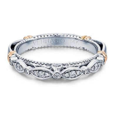 Parisian D-100W Diamond Wedding Band