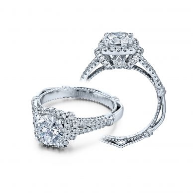 Parisian DL-117CU Diamond Engagement Semi-Mount