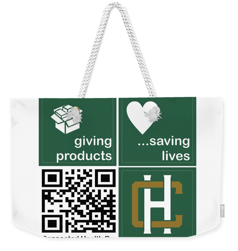 Connected Health Rx - Weekender Tote Bag