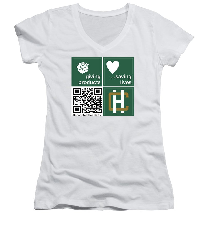 Connected Health Rx - Women's V-Neck