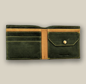 Peanut Brown Wallet, , Yellow Curtain, Yellow Curtain - Yellow Curtain
