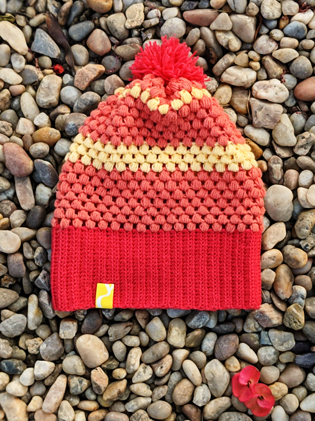 Pink Woolen Cap, , Yellow Curtain , Yellow Curtain - Yellow Curtain