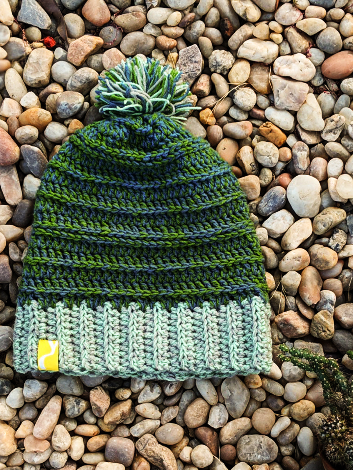 Green Woolen Cap, , Yellow Curtain , Yellow Curtain - Yellow Curtain
