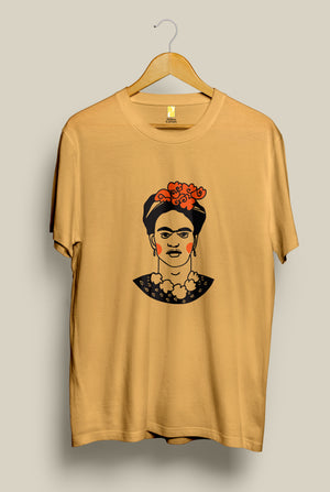 Frowny Frida, , Yellow Curtain , Yellow Curtain - Yellow Curtain