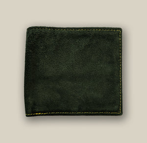 Moss Green Wallet, , Yellow Curtain , Yellow Curtain - Yellow Curtain