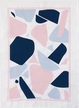 Ten and Co. Tea Towel - Abstract Blush & Blue