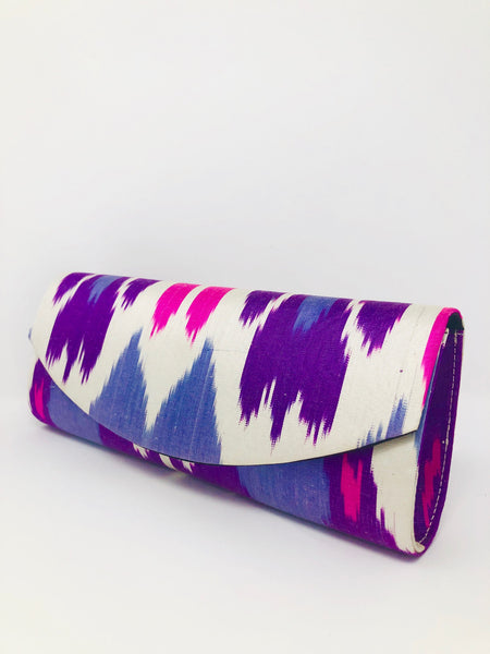 Frankitas Ava Clutch - Lavender & Pink