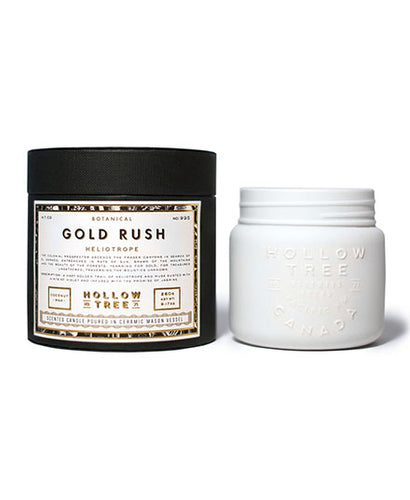 Hollow Tree Candles - Gold Rush