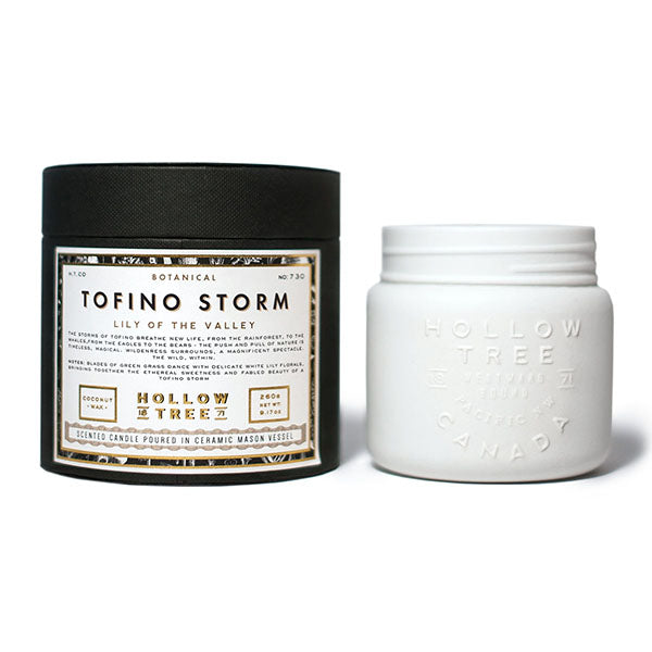 Hollow Tree Candles - Tofino Storm