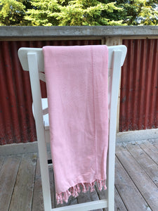 Turkish Peshtemal Towel - Ajur Peach