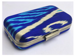 Frankitas Midi Clamshell Clutch - Royal Blue