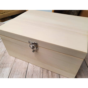 Engraved to Order Wooden Memory Box Engraved to Order Small