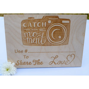 Share The Love Wedding Hashtag Sign Wedding sign