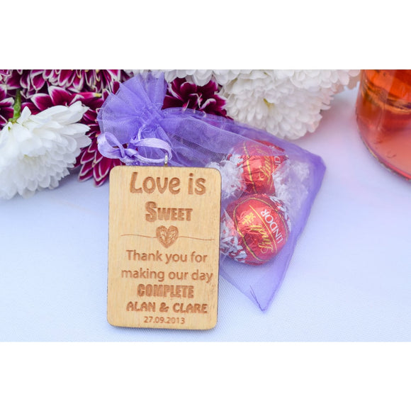 Wedding Favours Wedding Favours Single Sample / Tag