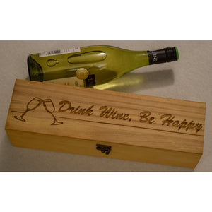 Wooden Wine Boxes Wine Boxes Wine o'Clock