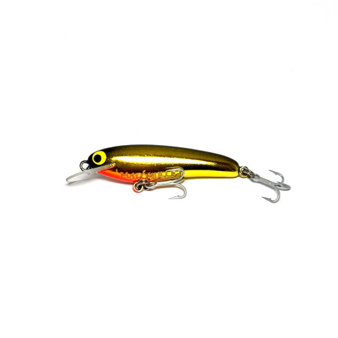 "Mad Mullet 2.5"" Shallow - Black / Gold"