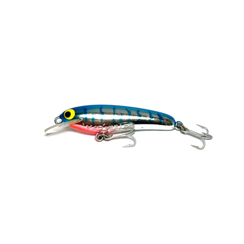 "Mad Mullet 2.5"" Shallow - Blue / Silver"