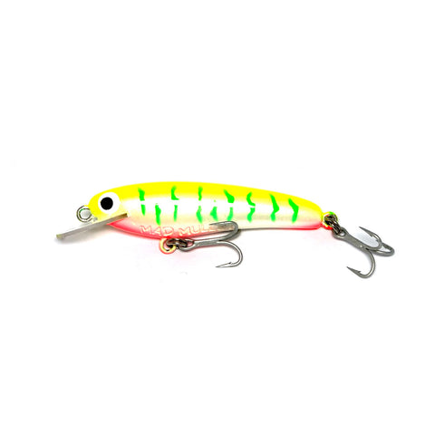 "Mad Mullet 2.5"" Shallow - Lime Tiger"