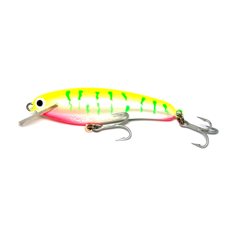 "Mad Mullet 3"" Shallow - Lime Tiger"