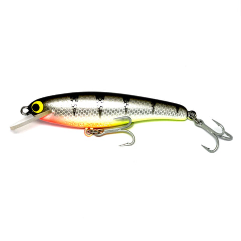 "Mad Mullet 4"" Shallow - Black / Silver"